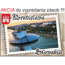 Magnetka kovová Bratislava 04