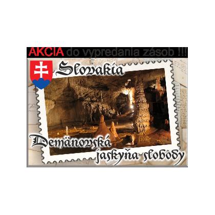 Magnetka kovová Demänovská Jaskyňa Slobody 01