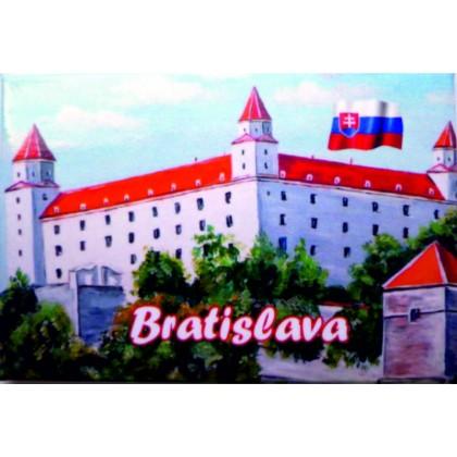 Magnetka kovová Bratislava Hrad