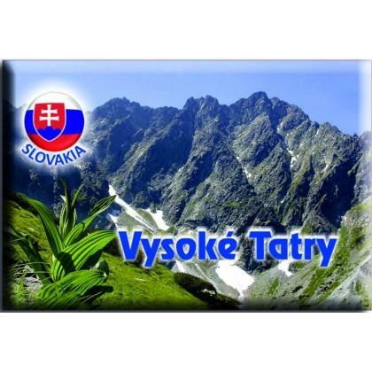 Magnetka kovová Vysoké Tatry