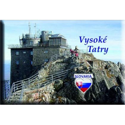 Magnetka kovová Vysoké Tatry Rozhľadňa