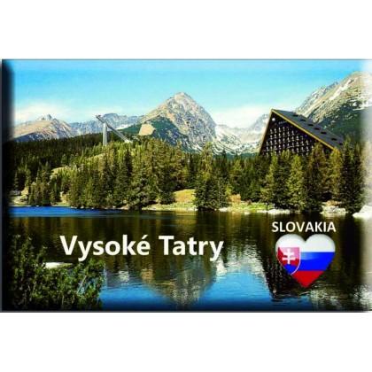 Magnetka kovová Vysoké Tatry Pleso