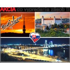 Magnetka kovová Bratislava 01