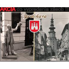 Magnetka kovová Bratislava 05