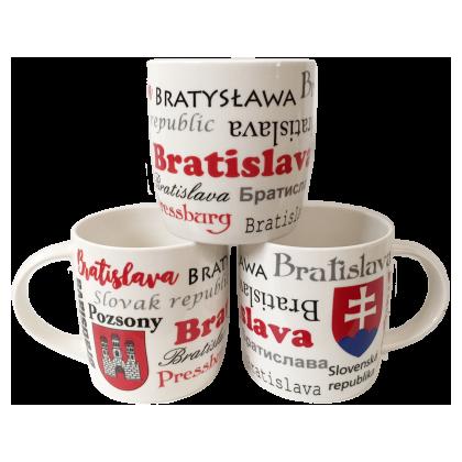 Suvenír šálka Bratislava 02