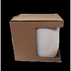Krabička na šálky s otvorom prírodná