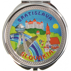 Suvenír Zrkadielko Bratislava 3