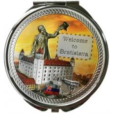 Suvenír Zrkadielko Bratislava 4