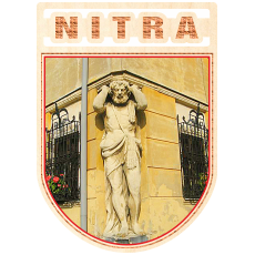 Magnetka erb Nitra