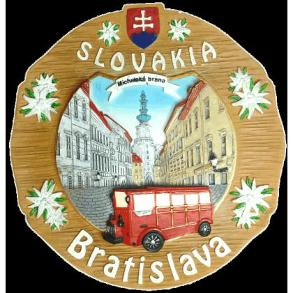 Suvenír Tanier Bratislava Vláčik