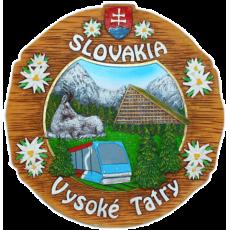 Suvenír Tanier Vysoké Tatry