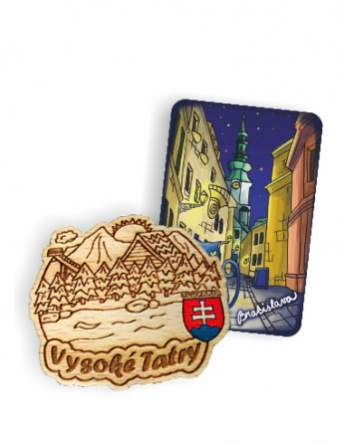 Magnetky drevené  od 0,70 € s DPH