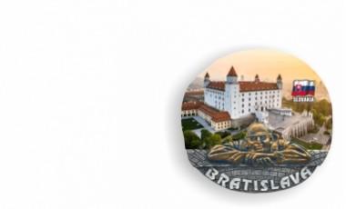 Magnetky  Bratislava Čumil      1,00 € s DPH