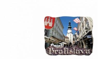 Magnetky Bratislava s erbom       1,00 € s DPH