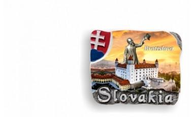 Magnetky Slovakia so znakom       1,00 € s DPH