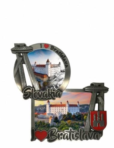 Magnetky Bratislava 3D                   1,30 € s DPH